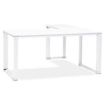 White corner desk WARNER