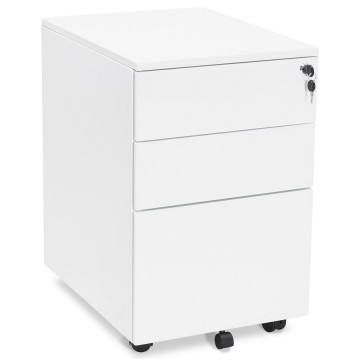 White drawer box OFFICIO