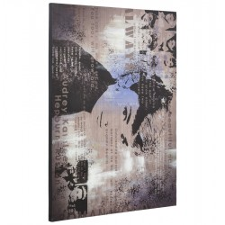 Glamorous printed canvas STAR