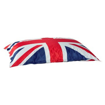 Pouf drapeau anglais grand format au design trendy chic FAT