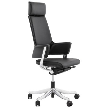 Ergonomic leather office chair KENNEDY