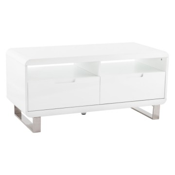 Designed White TV unit KUBO