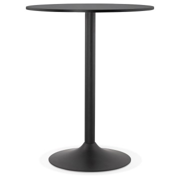BLACK high table for bar or eating TAPEO