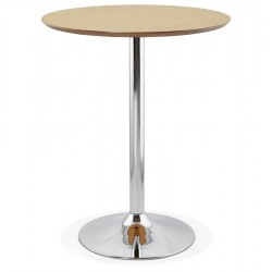 NATURAL high bar table with round top ATAA
