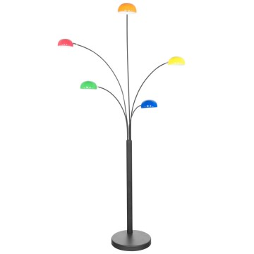 Designer standard MULTICOLOR floor lamp BUSH