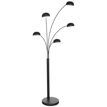 Designer standard floor lamp BUSH (BLACK)