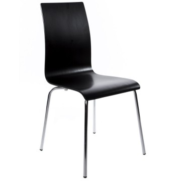 Multi-purpose chair with a sleek design CLASSIC (BLACK)